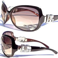 DG Sunglasses Fashion Cat Eye Vintage Retro Designer Eyewear Large Lens UV 100%
