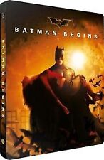 BATMAN BEGINS Blu ray Steelbook ( NEW )