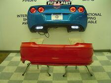2004 Pontiac GTO 5.7L OEM Red Rear Bumper Cover Assembly BROKEN TABS