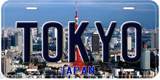Tokyo Japan Aluminum Novelty Car License Plate P02