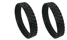 TWO R0526100 Zodiac Baracuda MX8 MX6 Cleaner  Track Tire Wheel