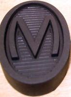 Vintage Morris 8 Eight Series 1 & 2 Brake & Clutch Pedal Rubber Single