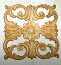 """WOOD EMBOSSED APPLIQUE 8""""H X 8""""W      HQ002"""