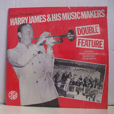 """33 tours HARRY JAMES Disque Vinyl LP 12"""" DOUBLE FEATURE Jazz Trompette FF 48"""