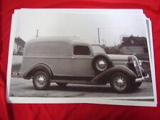 1936 DODGE HUMPBACK PANEL TRUCK    BIG 11 X 17  PHOTO  PICTURE