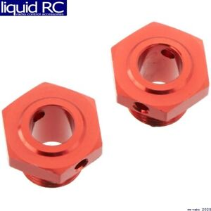 Arrma AR310447 Wheel Hex Aluminum 17mm (13.6mm Thick) Red (2)