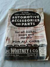 1963 J.C. Whitney Automotive Parts & Accessories Catalog No. 195