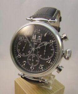 Armbanduhr Herrenuhr Fliegeruhr Chronograph Kienzle 1822  ***