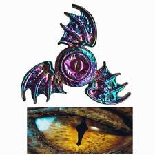 Dragon's eye Colorful Fidget Hand Finger Spinner Bat Wings Alloy US Stock FAST
