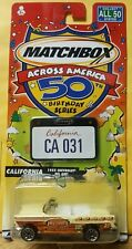 Matchbox Across America 50Th Birthday Series California 1955 Chevy Bel Air
