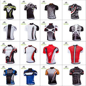 Men's Cycling Race Jersey Gear Bicycle Riding Shirt Short Sleeve Tops Uniforms