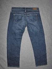 AG Adriano Goldschmied Women's Jeans The Tomboy Crop Relaxed Straight Size 25