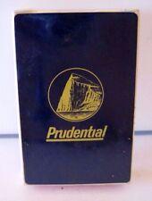 Vintage Sealed Prudential Insurance Custom Playing Cards, NOS, NIP