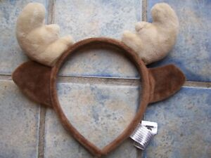 From Kinder Reindeer Ears Childs Christmas Headband Size Small