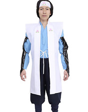 JAPANESE Momotaro Happi Kimono Jacket Hakama Set Cosplay Samurai Bushi