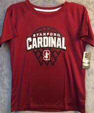 New Champion NCAA Stanford Cardinal Boys Short Sleeve T-Shirt SIZE L (12-14)