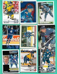 (18) MATS SUNDIN 1990S 2000S LEAFS/NORDIQUES  NM/NM-MT CARD (V1505)