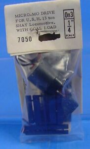 On3/On30 GRANDT LINE 7050 FAULHABER MICRO-MO DRIVE FOR U.S. HOBBIES 13 TON SHAY