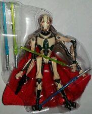 Star Wars GENERAL GRIEVOUS Action Figure 4 Light Sabers Walmart Droid Factory