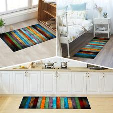 Non-Slip Kitchen Floor Mat Washable Rug Doors Large Runner Carpet Hallway New