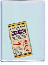 Mini ticket stub - CHICAGO CUBS lose GAME 7 of the 1945 WORLD SERIES to Tigers