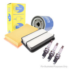 Toyota Aygo 1.0 Service Kit Oil, Air, Cabin Filters and 3* Spark Plugs