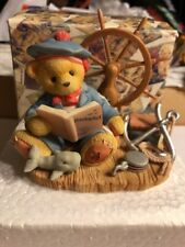 Cherished Teddies Glenn By Land Or Sea Nantucket Le Figurine 477893 A14