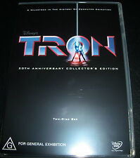 Tron 20th Anniversay Collector's Edition (Australia Region 4) 2 DVD - Like New