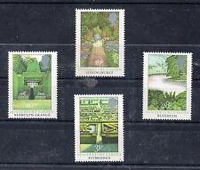 Gran Bretaña Flora Jardines Serie del año 1983 (CV-941)