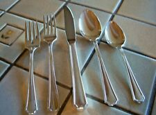 Oneida Community Silverplate Clairhill Fairhill Flatware 5 Piece Place Setting