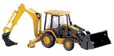 Norscot 55061 Caterpillar 420DIT Tractor Backhoe + 6 Attachments 1/50 Diecast MB