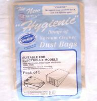 PAPER BAGS FOR ELECTROLUX ELITE ELECTRONIC,ELITE SUPER ELECTRONIC,1600,1700 ETC