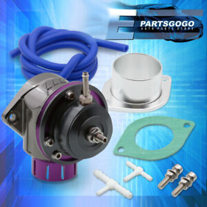 Type-Fv Adjustable Purple Turbo Blow Off Valve Bov + 2 Bolt Adapter Weld On Pipe
