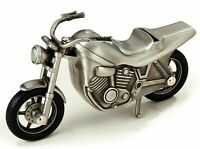 Motorcycle Metal Piggy Bank for Coins and Money New in Box