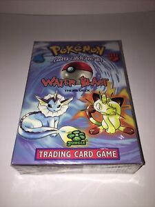 Pokemon Vintage Water Blast Theme Deck. Factory Sealed. Wizards Of The Coast.