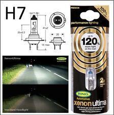 Ring 120% Brighter H7 TwinPack upgrade Xenon Ultima headlight Bulbs RW1277