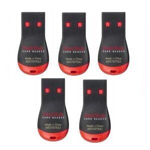 5 Pack Sandisk microSD Card Reader