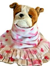 Pink Bowbreast Cancer,Fuzee Fleece Dog Blankets Pet Blanket Travel Throw Cover