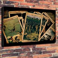 """Tarot Cards Printed Canvas A1.30""""x20""""-Deep 30mm horror, halloween, occult, wicca"""