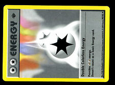 POKEMON BASE English SHADOWLESS CARD 1ed UNCO N°  96/102 DOUBLE COLORLESS ENERGY