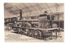 grenoble exposition internationale de la houille blanche ancienne locomotive