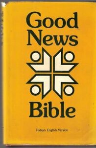 Good News Bible Leather / fine binding Book The Cheap Fast Free Post