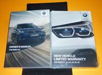 2020 BMW X3 3.0 M4.0I OWNERS MANUAL SET GUIDE 20 sDRIVE xDRIVE 30i 40i +case NEW