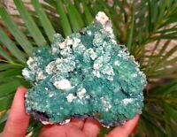 Green Heulandite On Matrix Minerals  #A5