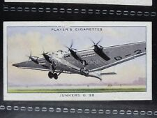 No.43 JUNKERS G 38 - John Player & Son 1935