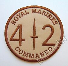 Britain British Royal Marines 42 Commando Sleeve Patch (Desert)