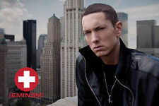 Eminem - Skyline POSTER 61x91cm NEW * Marshall Mathers rapper looking tough
