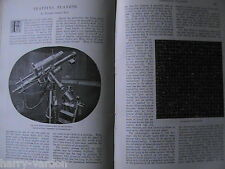 Astronomy Max Wolf Observatory Heidleberg Stars Planets Victorian Article 1897