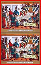 MANAMA 1971 NAPOLEON on DEATH BED imperf/perf x2 S/S MNH MILITARY, PAINTINGS