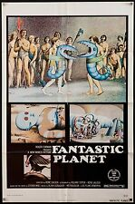 FANTASTIC PLANET 1973 US 1 sheet sci-fi poster LA PLANETE SAUVAGE filmartgallery